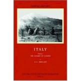 Official History Italy - Volume 1: The Sangro to Cassino (No dust jacket)